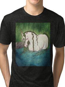 Willow Unicorn Tri-blend T-Shirt