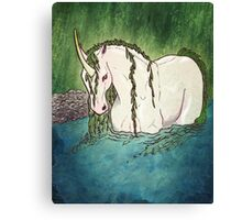 Willow Unicorn Canvas Print