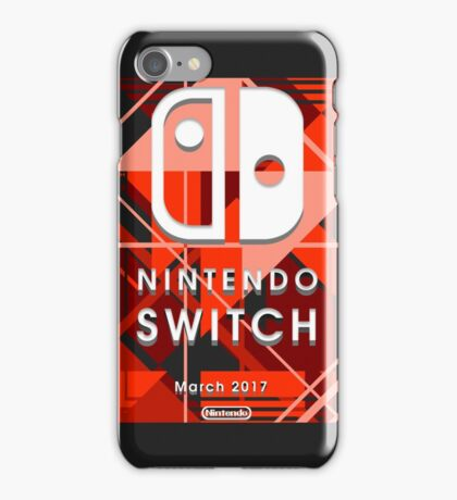 Nintendo Switch Abstract iPhone Case/Skin