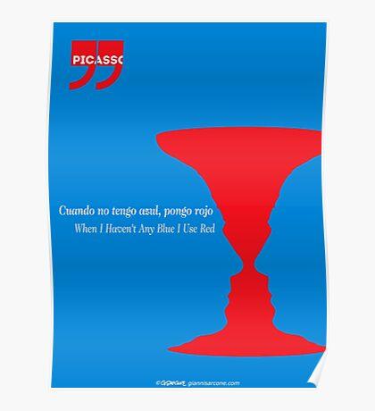 Pablo Picasso Quote Poster