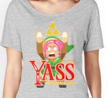 Triforce Yass by Nube Tees Women's Relaxed Fit T-Shirt