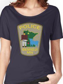 POLICE Bemidji MN Women's Relaxed Fit T-Shirt