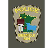 POLICE Bemidji MN Photographic Print