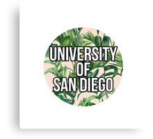 University of San Diego Canvas Print