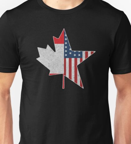 North American Connection | USA & Canada Unisex T-Shirt