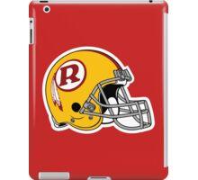 helmet redskins iPad Case/Skin