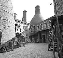 Gladstone Pottery Museum Stoke-on-Trent  by John Keates