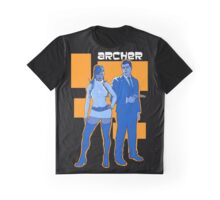 Archer and lana Graphic T-Shirt