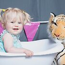 tiger and bath by wendys-designs