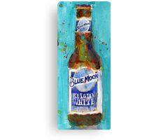 Blue Moon Beer - 2016 Beer Art Print  Canvas Print
