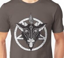 YOUNG BAPHOMET WHITE Unisex T-Shirt