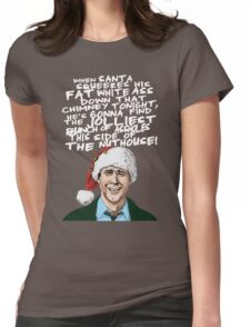 National shirt Lampoon's Christmas Vacation Happy New Year Womens Fitted T-Shirt