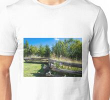 country back road scenery Unisex T-Shirt