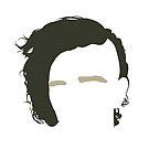 Matt Healy - The 1975 Minimalist Head by Posteritty