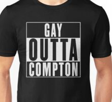 GAY OUTTA COMPTON Unisex T-Shirt