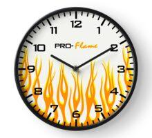 Pro Flamed Clock Clock