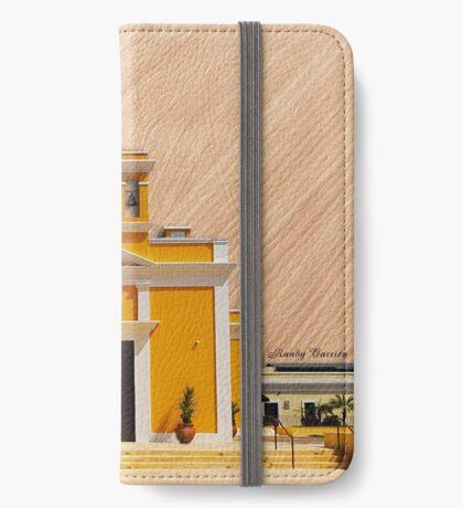 San Antonio de Padua Church-wood iPhone Wallet/Case/Skin