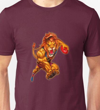 The Brave Lion artwork by Grange Wallis Unisex T-Shirt