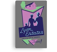 Lyon Estates Canvas Print