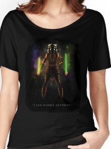 "Ahsoka Tano - ""I Can Handle Anything"" Women's Relaxed Fit T-Shirt"