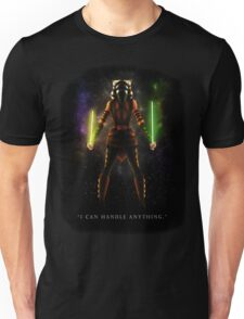 "Ahsoka Tano - ""I Can Handle Anything"" Unisex T-Shirt"