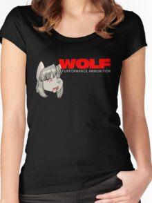 A WooooOOOOoooolf Women's Fitted Scoop T-Shirt
