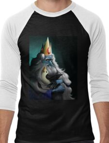 The King and his Penguin Men's Baseball ¾ T-Shirt