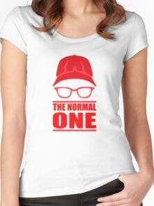 The Normal One - Liverpool Women's Fitted Scoop T-Shirt