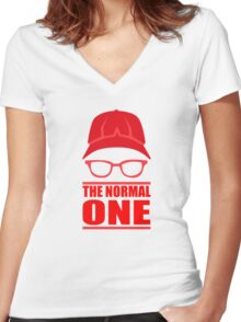 The Normal One - Liverpool Women's Fitted V-Neck T-Shirt