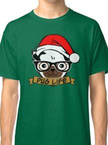 Christmas pug life Classic T-Shirt
