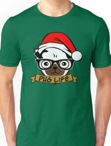Christmas pug life Unisex T-Shirt
