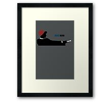 Mad Man (with a Box) Framed Print
