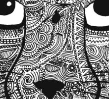 The Leopard Sticker