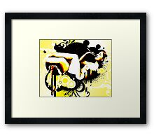Bubble Fantasy Framed Print