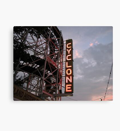 The Cyclone Canvas Print