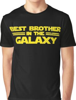 Best Brother in the Galaxy Graphic T-Shirt