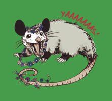 Daisy Chain Opossum Possum Yaaaas! Kids Tee