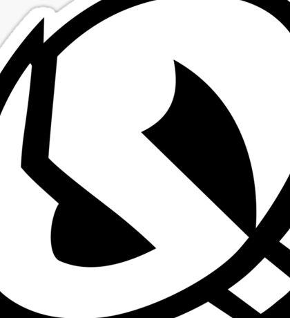 Skull Logo Sticker