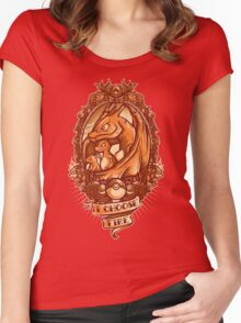 I choose fire  Women's Fitted Scoop T-Shirt