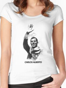 Carlos Alberto Women's Fitted Scoop T-Shirt