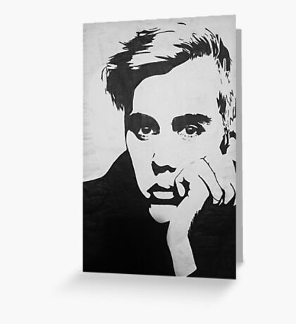 Bieber Greeting Card