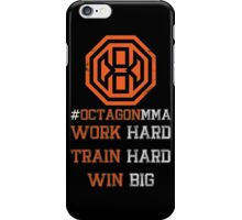 Octagon MMA Hashtag Logo iPhone Case/Skin