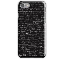 One Hundred Scientists by Tai's Tees iPhone Case/Skin