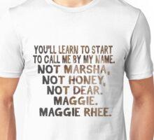 maggie rhee Unisex T-Shirt