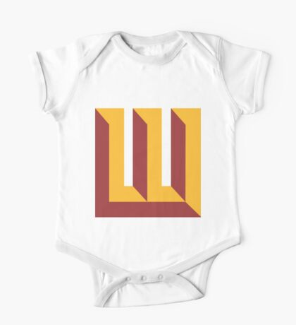 Wyoming Redskins One Piece - Short Sleeve