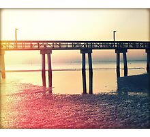 Tide Reflected Photographic Print