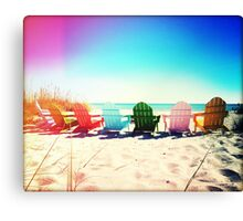 Rainbow Beach I Canvas Print