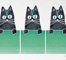 Cats in Boxes by Cat Coquillette