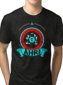Ahri - The Nine-Tailed Fox Tri-blend T-Shirt