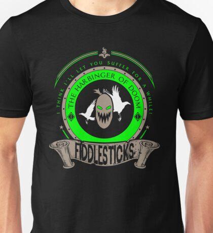 Fiddlesticks - The Harbinger Of Doom Unisex T-Shirt